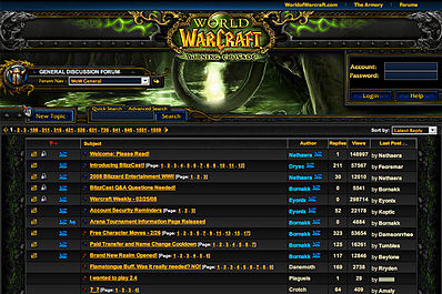 Forum World of Warcraft